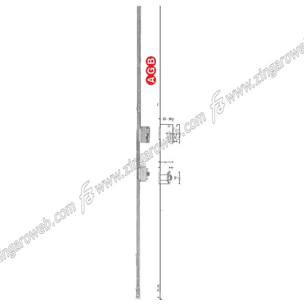 CREMONESE TESI ANTA/RIBALTA FORO CILINDRO E25 GR10 2200-2400 AGB