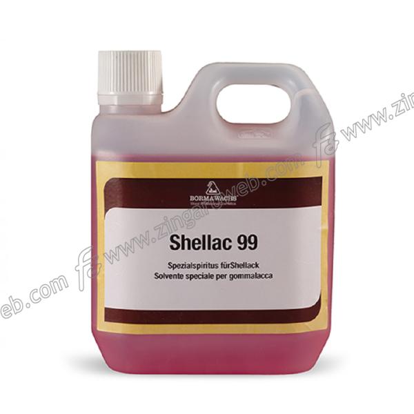 SHELLAC 99 ALCOOL-DILUENTE SPECIALE PER GOMMALACCA lt.1 BORMA WACHS