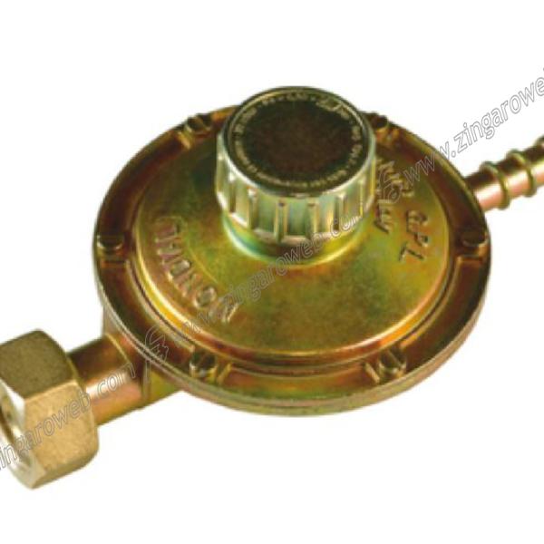 REGOLATORE PER GAS ATTACCO ORRIZZONTALE DADO 25 mm.