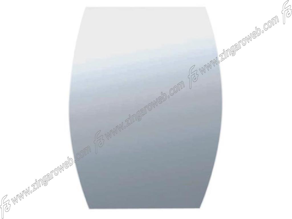 SPECCHIO DA BAGNO BOMBATO CON MOLATURA SPESSORE 5 mm. DA 60x80 cm.
