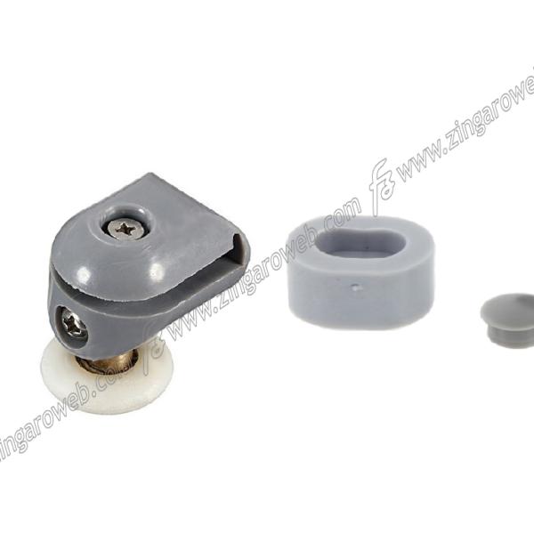 RICAMBIO CUSCINETTO BOX DOCCIA modello IGLO FORO d.11 mm.25x5 VETRO mm.4 SUPERIORE