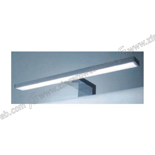 LAMPADA LED LICIA IP44 w7 lm560 mm.300x95x30h K6400 ATTACCO A TELAIO CROMO