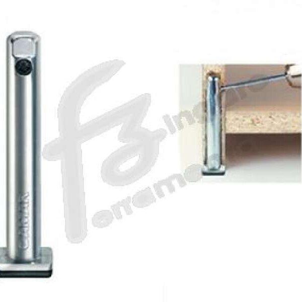 LIVELLATORE CENTROSPALLA REGOLABILE DIAMETRO 12 mm. 0-25 ALTEZZA 120 cm. ZINCATO prodotto da CAMAR