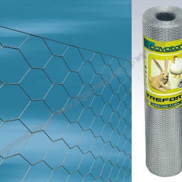 RETE TREFORT TRIPLA TORSIONE MAGLIA ZINCATA F19/3 h50 ml.50 prodotto da CAVATORTA