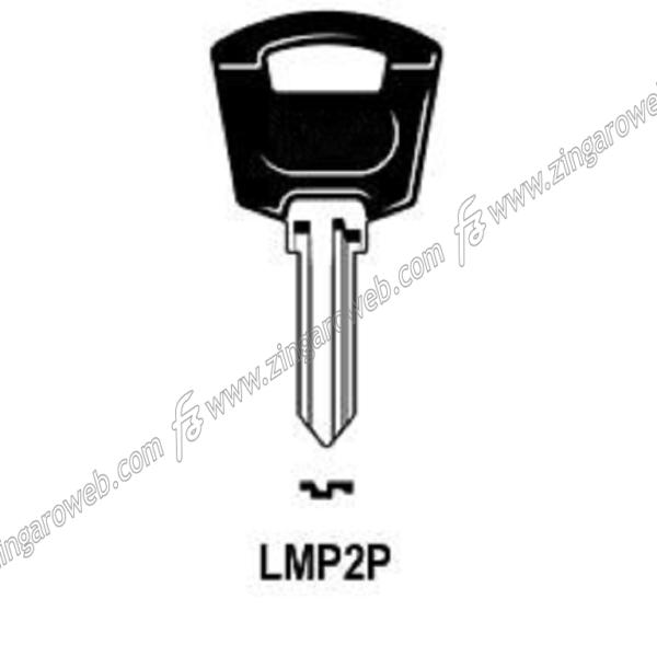 CHIAVE GREZZA AUTO-MOTO TESTA PLASTICA LMP LP2P/LMP2P