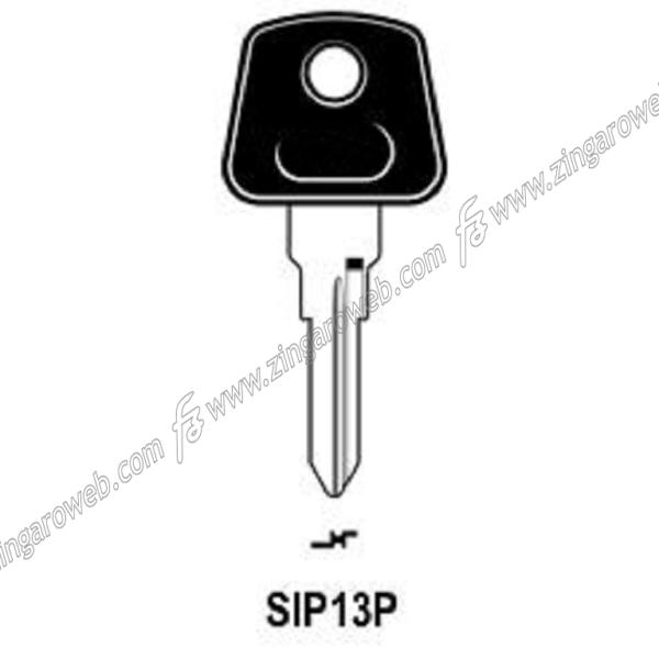 CHIAVE GREZZA AUTO-MOTO TESTA PLASTICA SIPEA SP12P/SIP13P