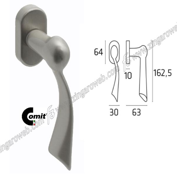 DK HELIOS MOVIMENTO 4 SCATTI METALLO 3D IN NIKEL SATINATO prodotta da COMIT