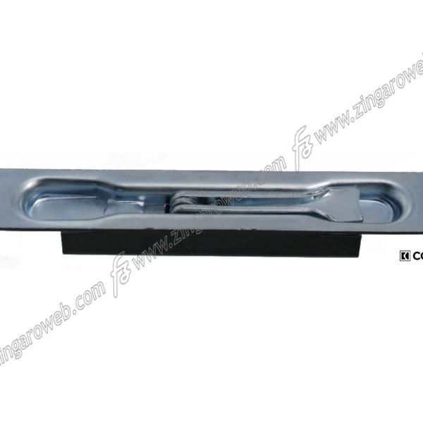 CATENACCIO INCASSO UNA MANDATA LEVA DA 24x160 mm. ZZT - ZINCATO prodotto da COMUNELLO