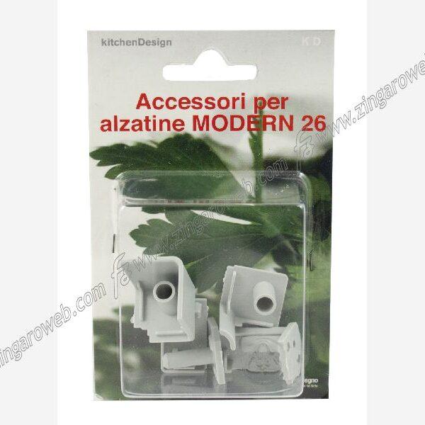 BLISTER ACCESSORI PER ALZATINA MODERNDA 26x16 mm. GRIGIO CHIARO prodotto da UNOLEGNO
