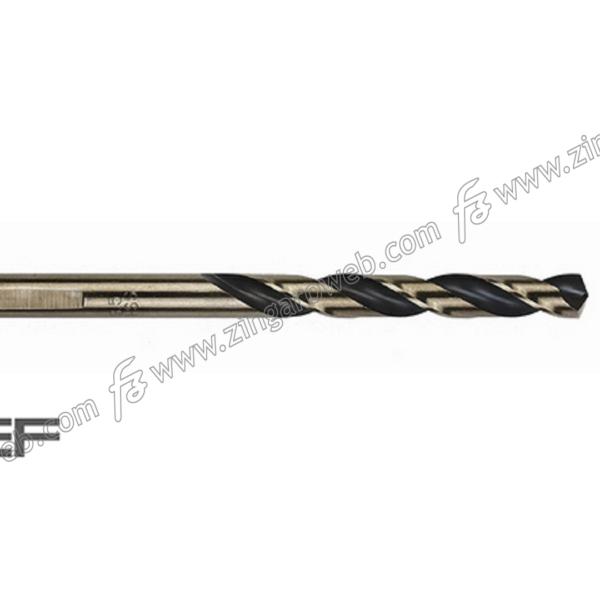 PUNTA HSS-G M2 DIN338 GOLD BLACK FRESATA RETTIFICATA RINFORZATA prodotta da ECEF