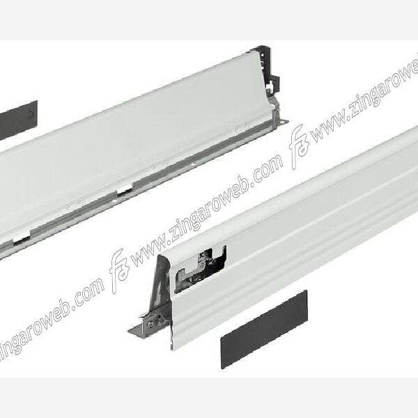 TANDEM BOX PLUS SPONDINE ANTARO BIANCOALTEZZA 101,4 mm. DA 50 cm. prodotto da BLUM