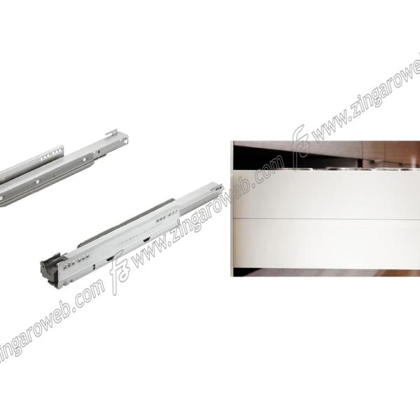 LEGRABOX GUIDE BLUMOTION ESTRAZIONE TOTALE PORTATA DA 70 kg. DA 60 cm. prodotto da BLUM