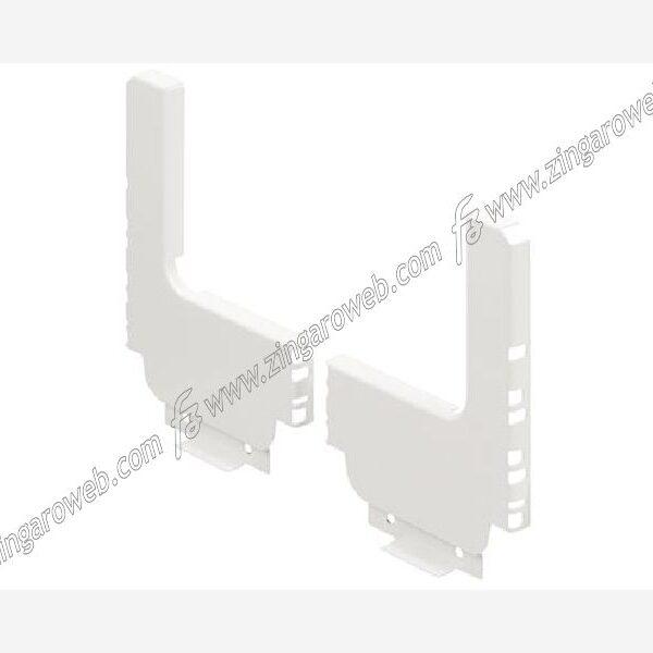 TANDEM BOX SCHIENALE IN ACCIAIO FORMA A L BIANCO prodotto da BLUM