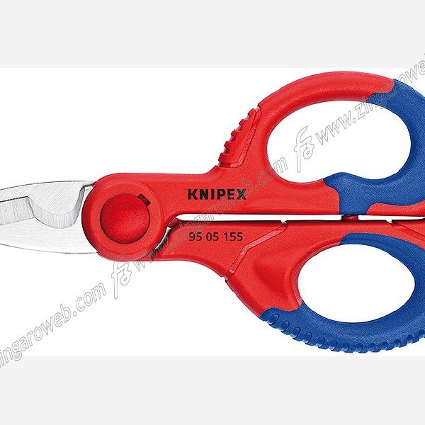 FORBICE ELETTRICISTA LAMA ACCIAIO INOX mm.160 MANICO RIVESTITO KNIPEX