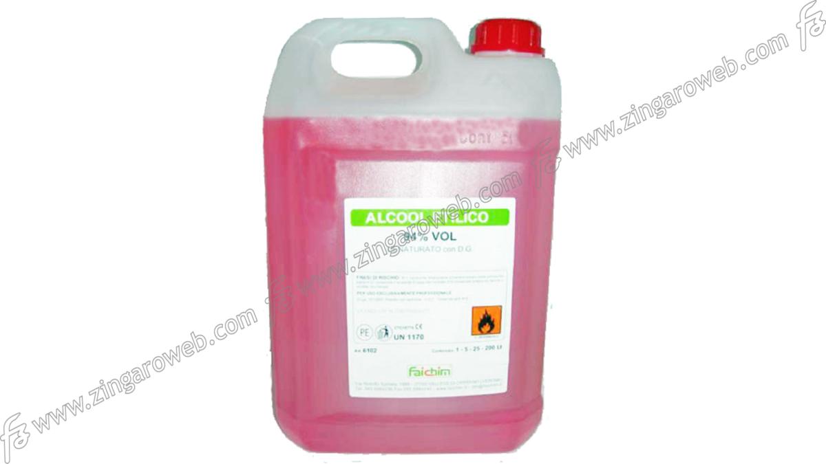 ALCOOL ETILICO DENATURATO 94gr. lt.1-5 prodotto da FAICHIM