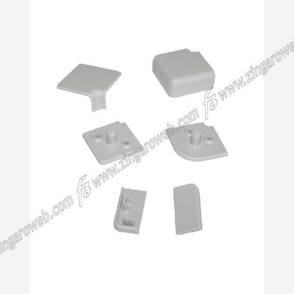 CONFEZIONE ACCESSORI PER ALZATINA S/62 DA 12x25 mm. GRIGIO prodotto da FAVARO