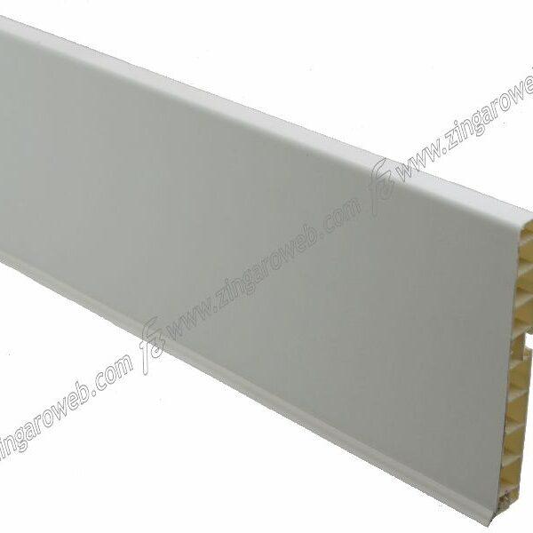 ZOCCOLO PER CUCINA PVC mt.4 h150 BIANCO OPACO