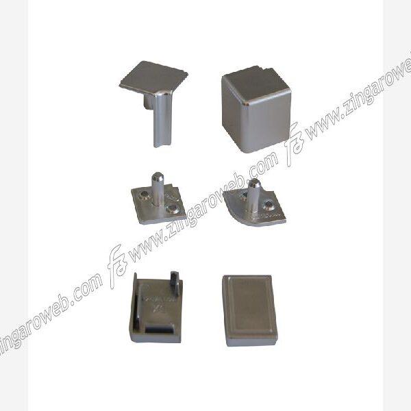 CONFEZIONE ACCESSORI PER ALZATINA S/60 DA 21x32 mm. CROMO prodotto da FAVARO