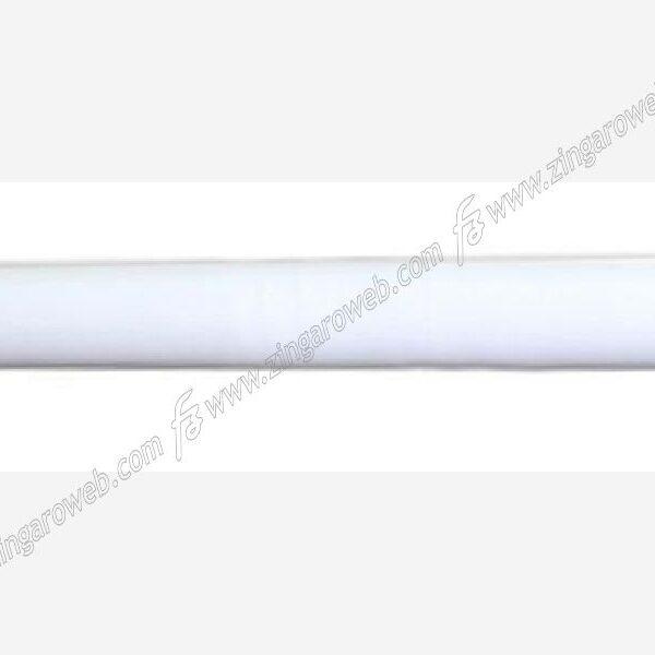 BASTONE LEGNO A STRAPPO SENZA ANELLI DIAMETRO 35 mm. DA 4 m. BIANCO
