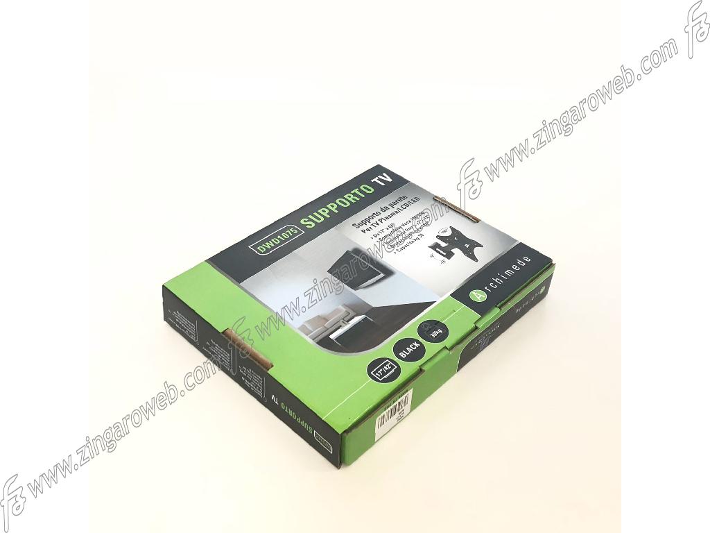 SUPPORTO TV-LCD A 2-SNODI DA 17-42 POLLICI PORTATA MAX 30 kg. COMPATIBILE CON VESA 100-200 NERO