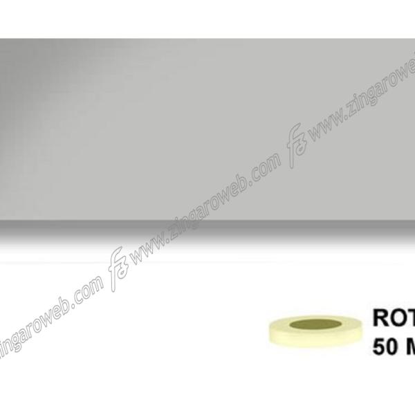 BORDO LAMINATO PREINCOLLATO SPESSORE 0,40 mt.50 GRIGIO OPACO 478 h22 prodotto da BRICOMM
