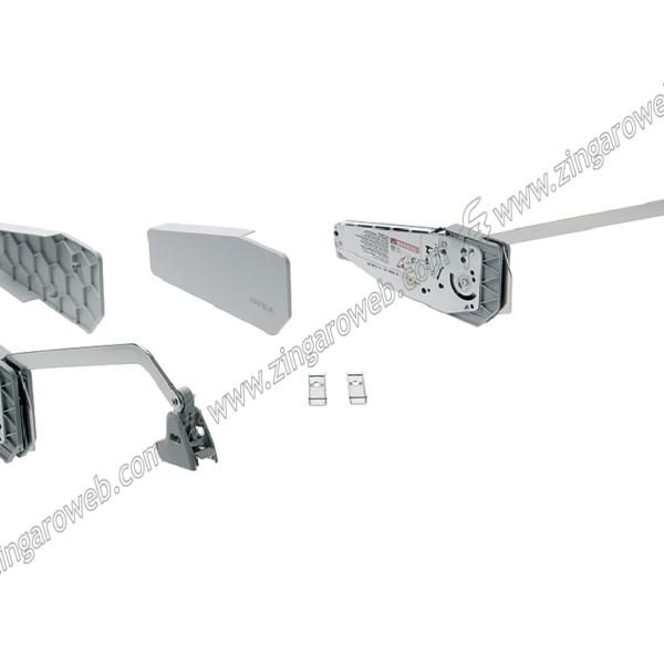 GUARNITURA FREE FOLD ANTE PIEGHEVOLE ALTEZZA ANTA 480-530/520-590/580-650/650-730/710-790/840-910/910-970/960-1010 mm.BIANCO prodotto da HAFELE
