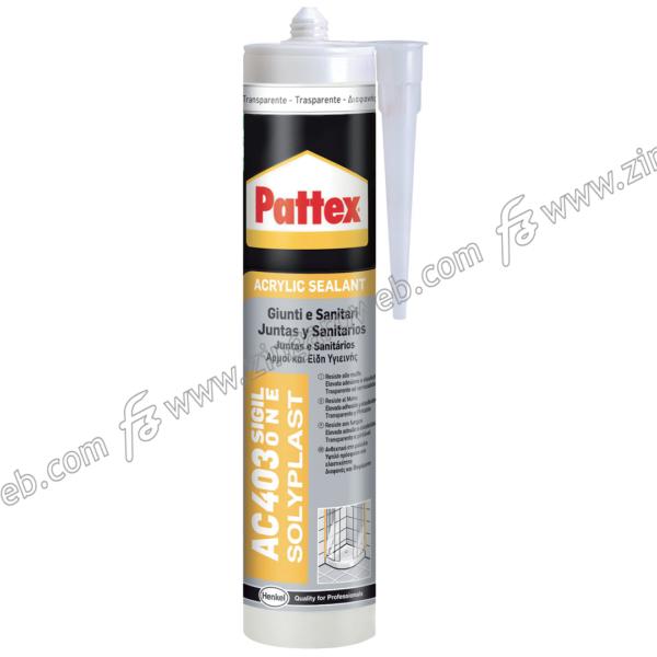 PATTEX AC 403 ACRIL ONE SIGILLANTE SUPERACRILICO TRASPARENTE ml.300 prodotto da HENKEL