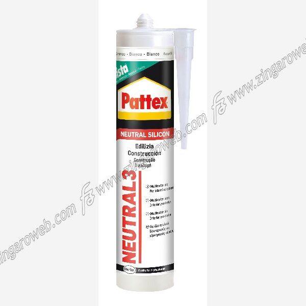 PATTEX NEUTRAL 3 SILICONE NEUTRO TRASPARENTE ml.280 HENKEL