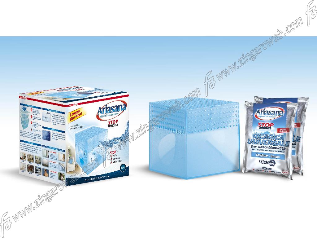 ARIASANA KIT MAXI CLASSIC DEUMIDIFICANTE 2x450g prodotto da HENKEL