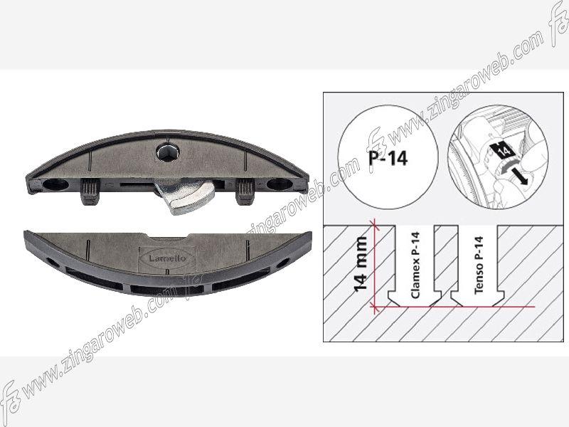CLAMEX GIUNZIONE CON CHIUSURA METALLICA PER PANNELLI P-10-14 prodotto da LAMELLO