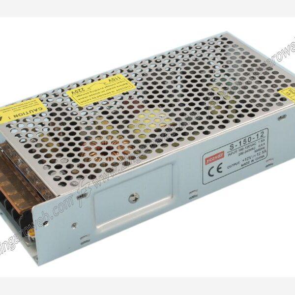 CONVERTER LED IP20 240V-24Vdc 150w METALLO d.42x198x99 prodotto da LAMPO