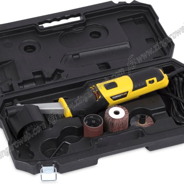 SPAZZOLATRICE A RULLO POWX0495 300 W DIAMETRO 60 mm. SEI VELOCITA' prodotto da POWER PLUS