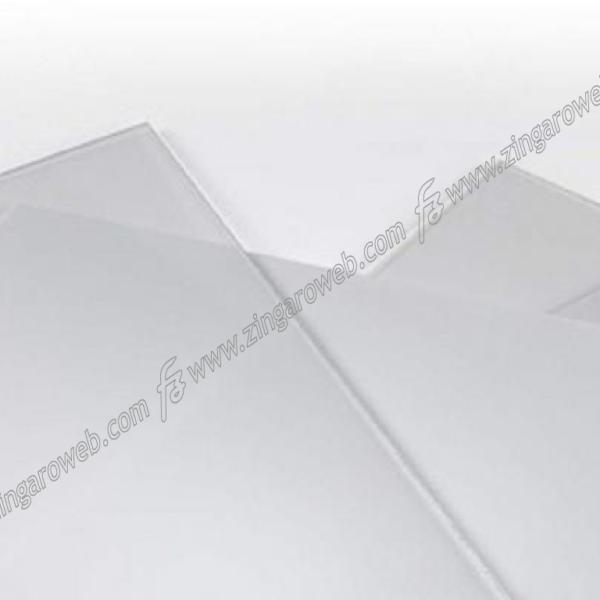 VETRO SINTETICO LISCIO TRASPARENTE SPESSORE mm.4 cm.25x50 prodotto da POLIMARK