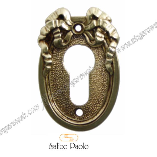 BOCCHETTA FORO YALE DHELI IN POV (Patinato Oro Vecchio) prodotta da SALICE PAOLO