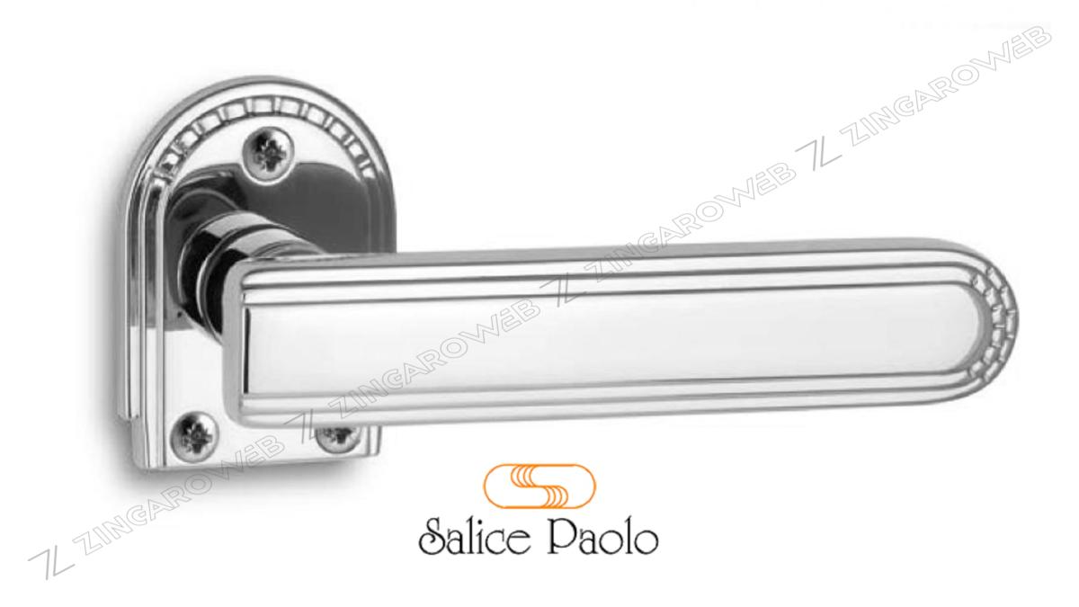 MANIGLIA DECO ROSETTA SEMIOVALE d.42x57x6h FORO CHIAVE prodotto da SALICE PAOLO