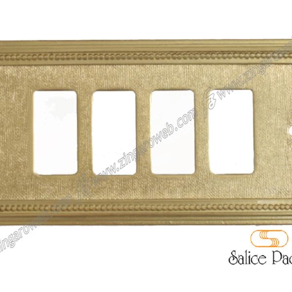 COPRINTERRUTTORE MILANO PER MAGIC BTICINO D (Dorato Opaco) prodotto da SALICE PAOLO