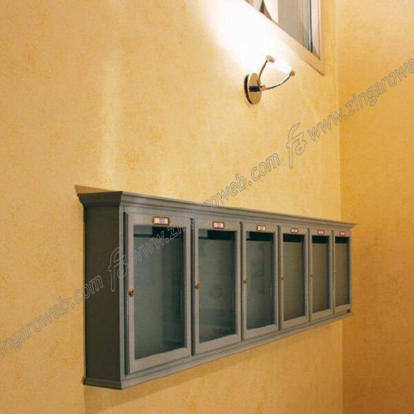 """CASSETTA POSTALE """"CLASSIC"""" PIATTO DA 280x370x85 mm. LEGNO NOCE prodotto da RAVASI"""