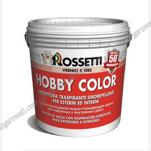 HOBBY COLOR IDROPITTURA TRASPIRANTE IDROREPELLENTE BIANCO 15 lt. prodotto da ROSSETTI