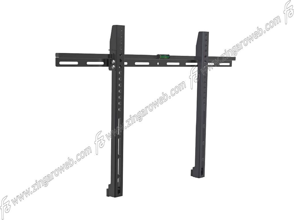 SUPPORTO TV-LCD FISSO DA 32-70 POLLICI PORTATA MAX 50 kg. COMPATIBILE CON VESA 75-100-200-300-400-600 NERO