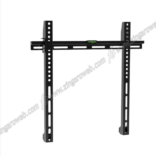 SUPPORTO TV-LCD FISSO DA 23-55 POLLICI PORTATA MAX 50 kg.COMPATIBILE CON VESA 75-100-200-300-400 NERO