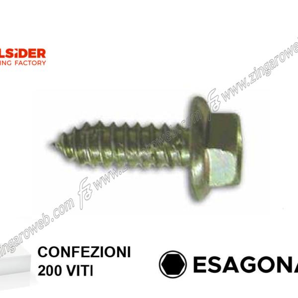VITE AUTOFILETTANTE TE ZINCATO pz.200 mm.6,3 prodotto da FRIULSIDER