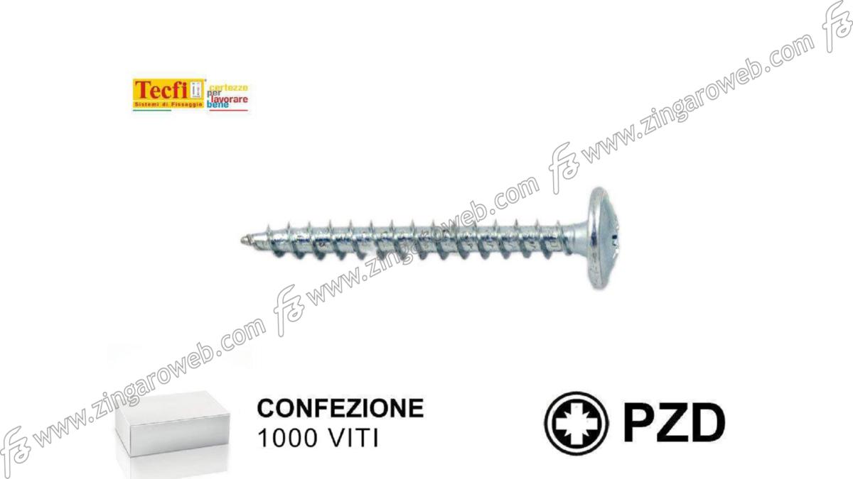 VITE TRUCIOLARE TC FALSA RONDELLA ZINCATA PZ1 pz. 1000 mm.3,0x25 prodotto da TECFI