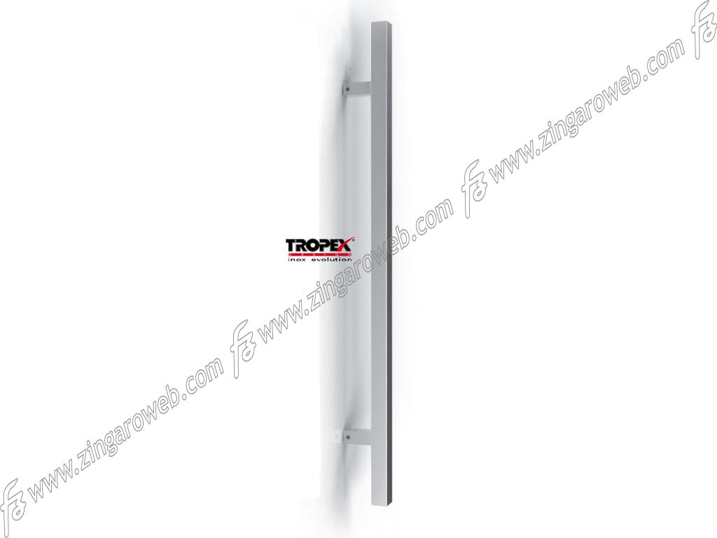 MANIGLIONE TORONTO QUADRO INTERASSE 800 DA 960x70 mm.INOX AISI304 SATINATO prodotto da REGUITTI INOX