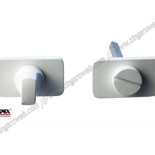 NOTTOLINO WC Q6 ONE ROSETTA RETTANGOLARE d.50x30 BIANCO OPACO RAL9016 prodotto da REGUITTI INOX