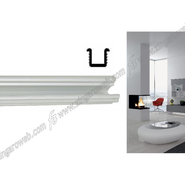 BINARIO SUPERIORE ALLUMINIO 10x10 mm. 3 mt. prodotto da TERNO SCORREVOLI