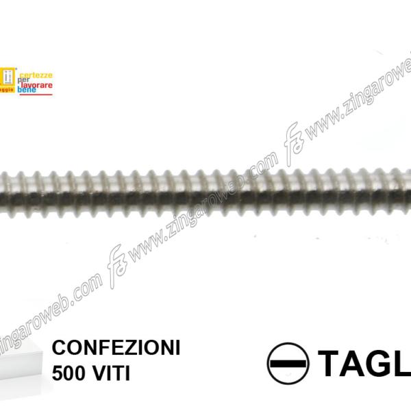 VITE AUTOFILETTANTE TSP NICHELATA A TAGLIO 500 pz. mm. 3,9x50 prodotto da KNIPPING