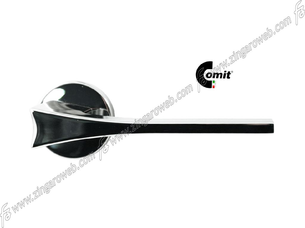 MANIGLIA MALIBU ROSETTA TONDA d.52x9h FORO CHIAVE Z2A-CROMO LUCIDO prodotta da COMIT