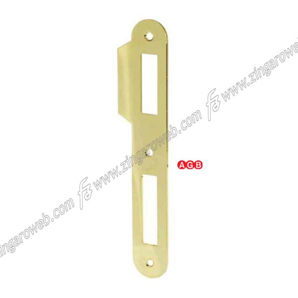 INCONTRO PATENT PICCOLA BORDO TONDO CON ALETTA FRONTALE 20x138 mm. prodotto da AGB