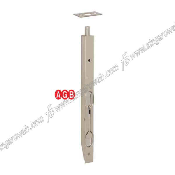 CATENACCIO INCASSO A LEVA FRONTALE mm.16 NIK-NICHELATO prodotto da AGB