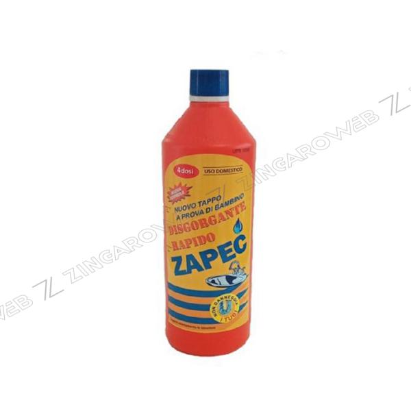 ZAPEC STURATUTTO DISGORGANTE RAPIDO LIQUIDO ml.750 prodotto da CAPEC